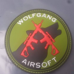 PVC Wolfgang Airsoft Patch